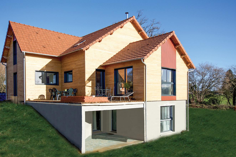 Constructeur Maison En Bois Limoges maisons ossature bois | ep charpente